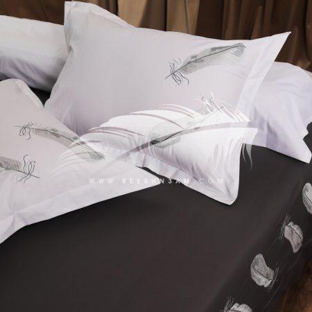 طقم سرير قطن بركال مطرز