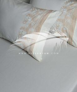طقم سرير مشغول بركامة