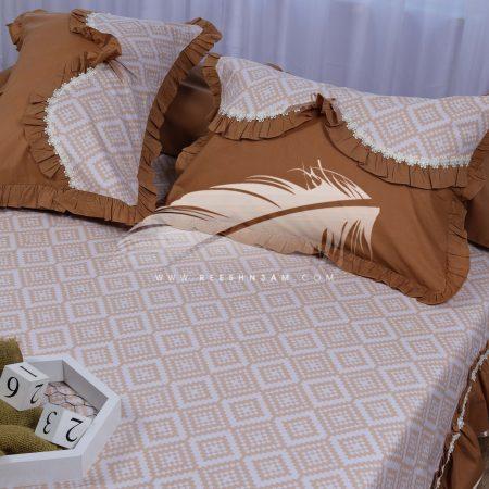 طقم سرير بكرانيش مموجه