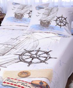 طقم سرير اطفال مطبوع