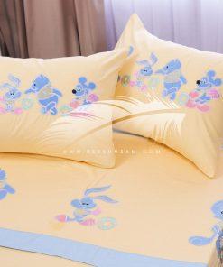 طقم سرير اطفال برسومات بارزة