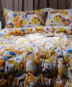 لحاف قطيفة سرير كبير