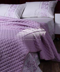 طقم كوفرتة كابتونيه و طقم سرير 2×1